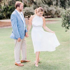 A.L.C. White Dress size 4